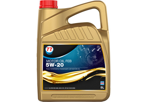 77 Lubricants Motor Oil FEB 5W-20 - Motorolie, 5 lt