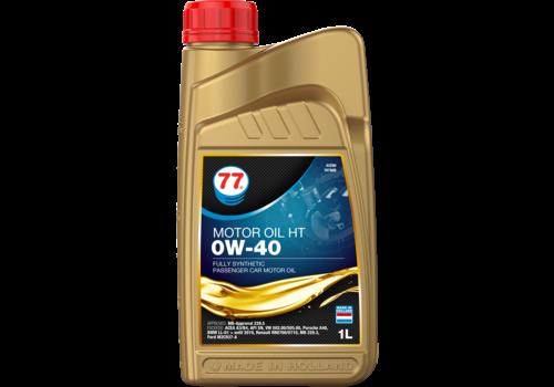 77 Lubricants Motor Oil HT 0W-40 - Motorolie, 1 lt
