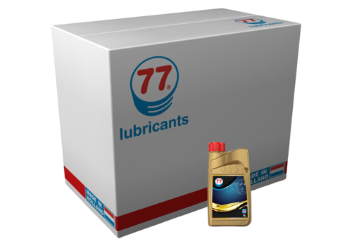 77 Lubricants Motor Oil Synthetic 10W-30 - Motorolie, 12 x 1 lt