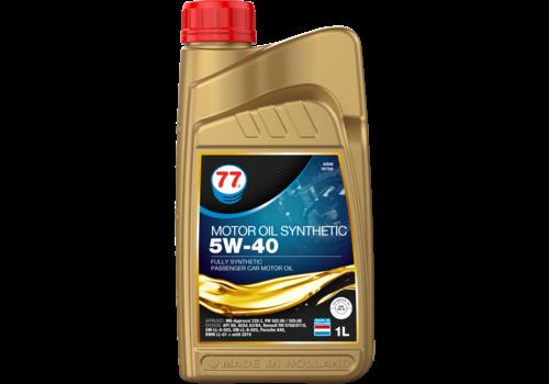 77 Lubricants Motor Oil Synthetic 5W-40 - Motorolie, 1 lt
