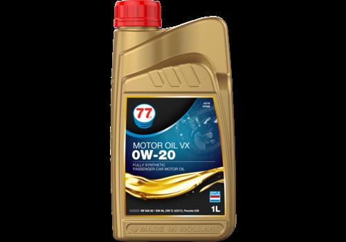 77 Lubricants Motor Oil VX 0W-20 - Motorolie, 1 lt