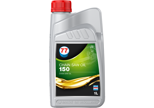 77 Lubricants Chain Saw Oil 150 - Kettingzaag olie, 1 lt