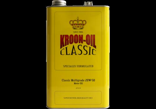 Kroon Oil Classic Multigrade 20W-50 - Motorolie, 5 lt