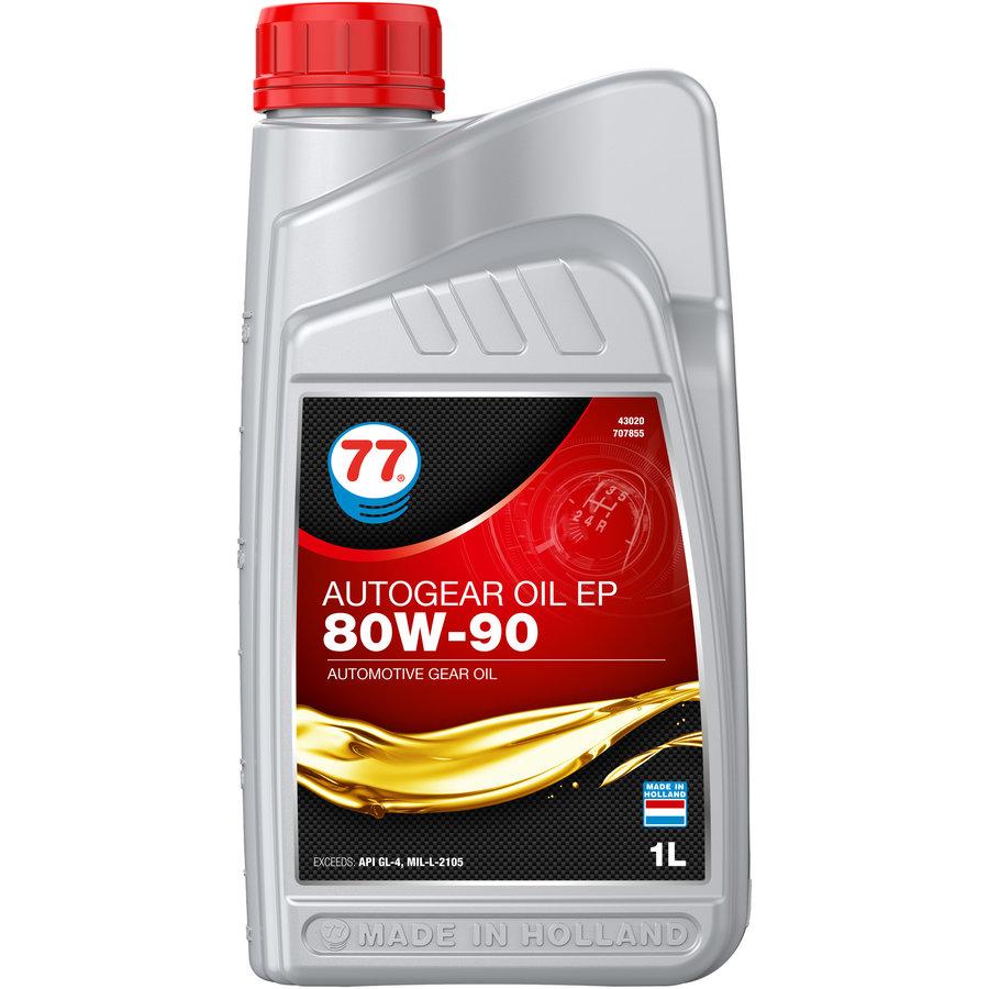 Autogear Oil EP 80W-90 - Versnellingsbakolie, 1 lt-1
