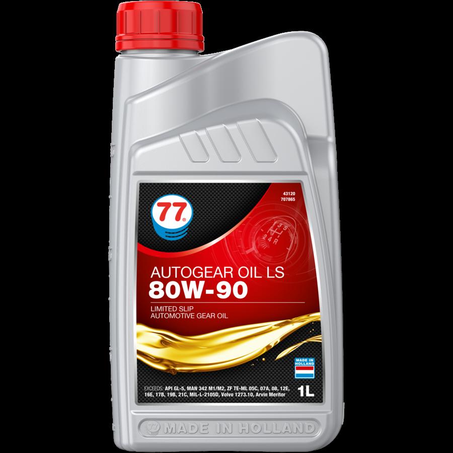 Auto Gear Oil LS 80W-90 - Versnellingsbakolie, 12 x 1 lt-2