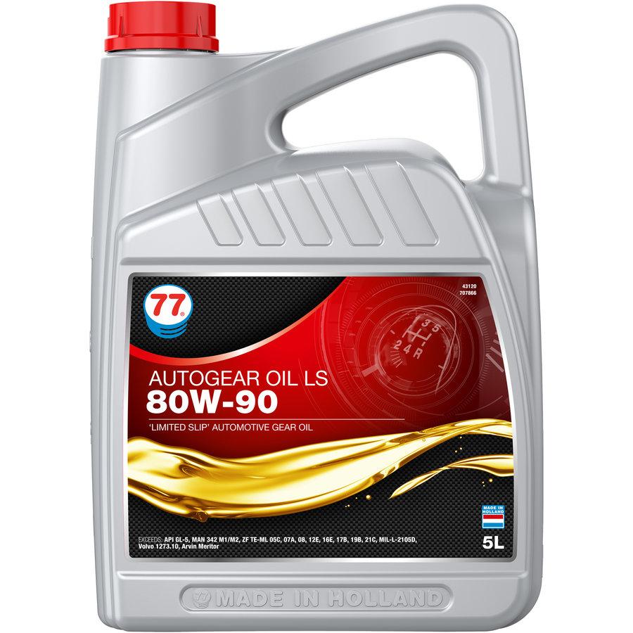 Auto Gear Oil LS 80W-90 - Versnellingsbakolie, 5 lt-1