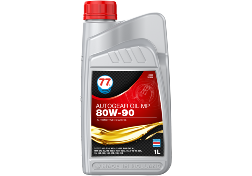 77 Lubricants Autogear Oil MP 80W-90 - Versnellingsbakolie, 1 lt