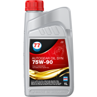 Autogear Oil SYN 75W-90 - Versnellingsbakolie, 1 lt
