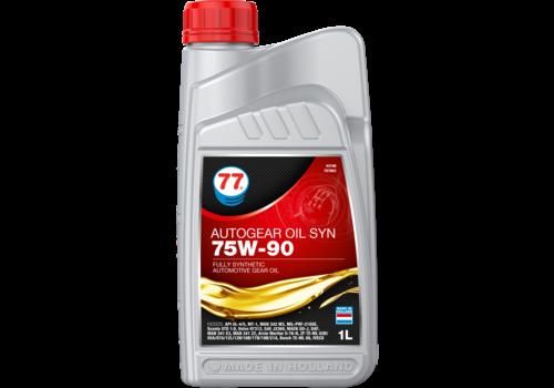 77 Lubricants Autogear Oil SYN 75W-90 - Versnellingsbakolie, 1 lt