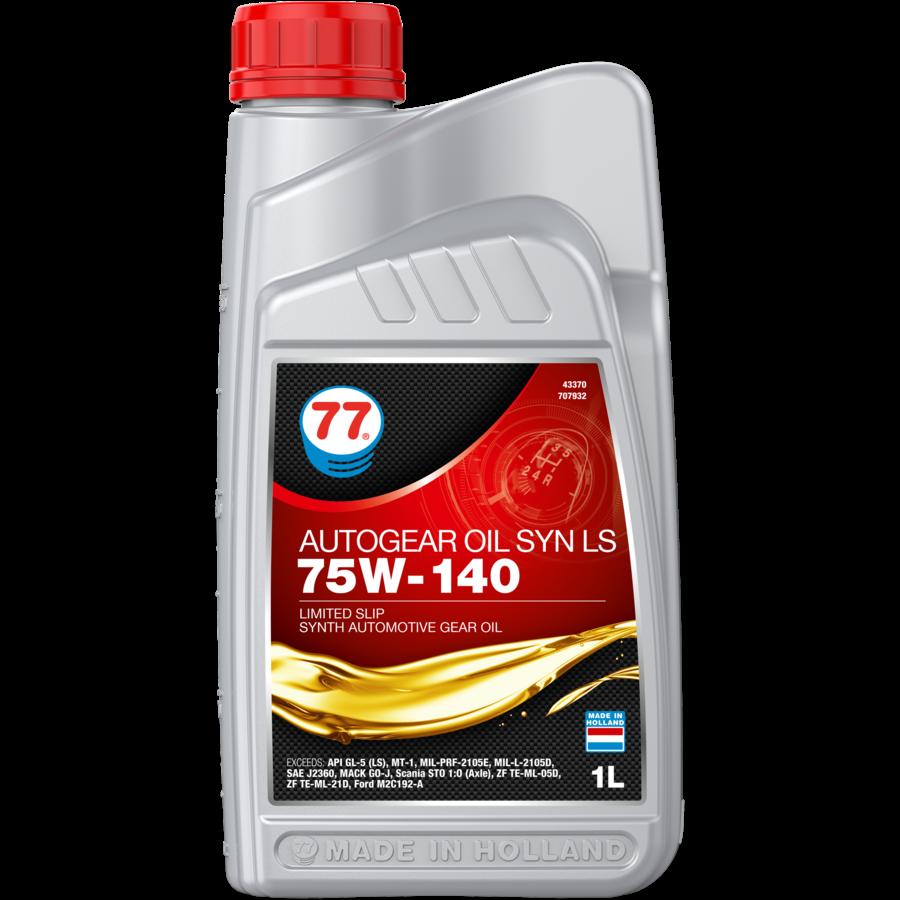 Autogear Oil Syn LS 75W-140 - Versnellingsbakolie, 12 x 1 lt-2