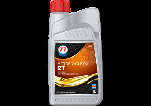 77 Lubricants Motorcylcle Oil 2T - Motorfiets olie, 1 lt