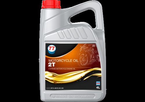 77 Lubricants Motorcycle Oil 2T - Motorfiets olie, 4 lt