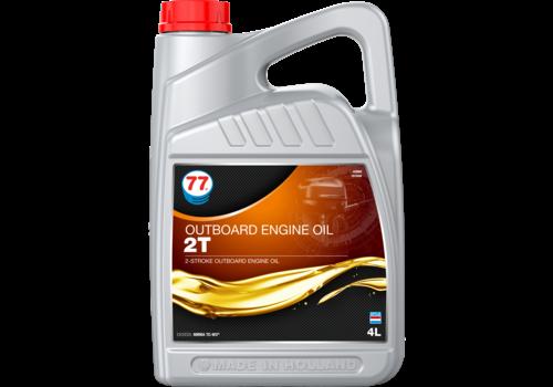 77 Lubricants Outboard Engine Oil 2T - Buitenboordmotor olie, 4 lt