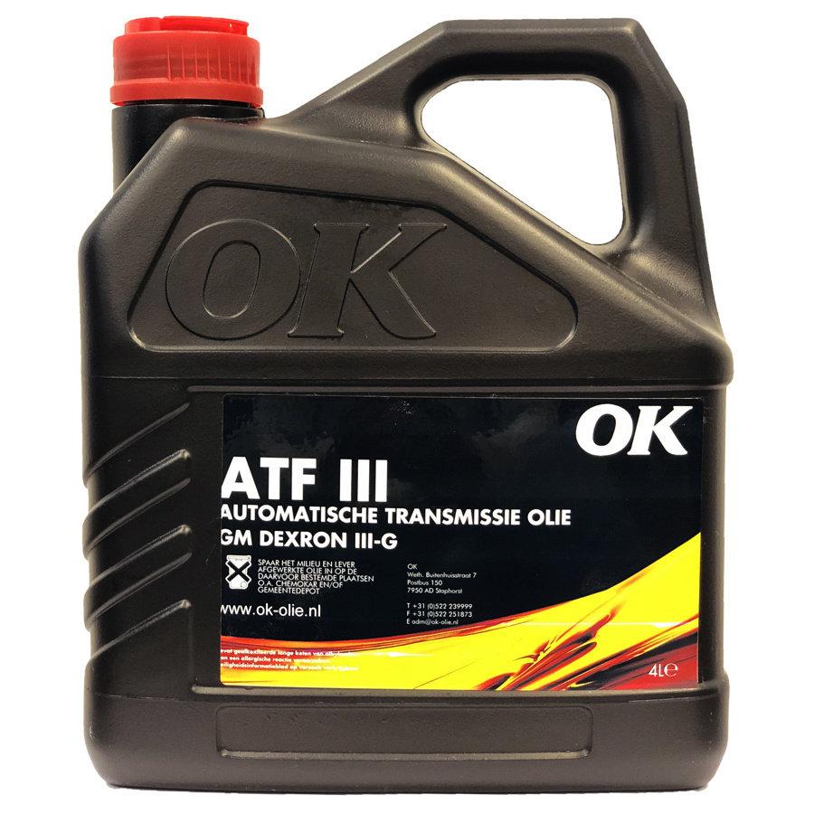 ATF III - Transmissie olie, 4 lt (OUTLET)-1