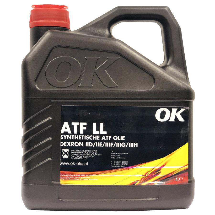 ATF LL - Transmissie olie, 4 lt (OUTLET)-1