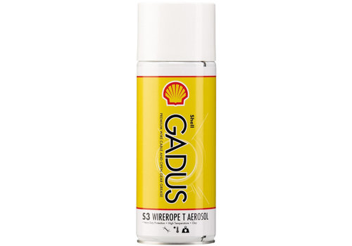 Shell Gadus S3 Wirerope T Aerosol - Vet, 400 ml (OUTLET)