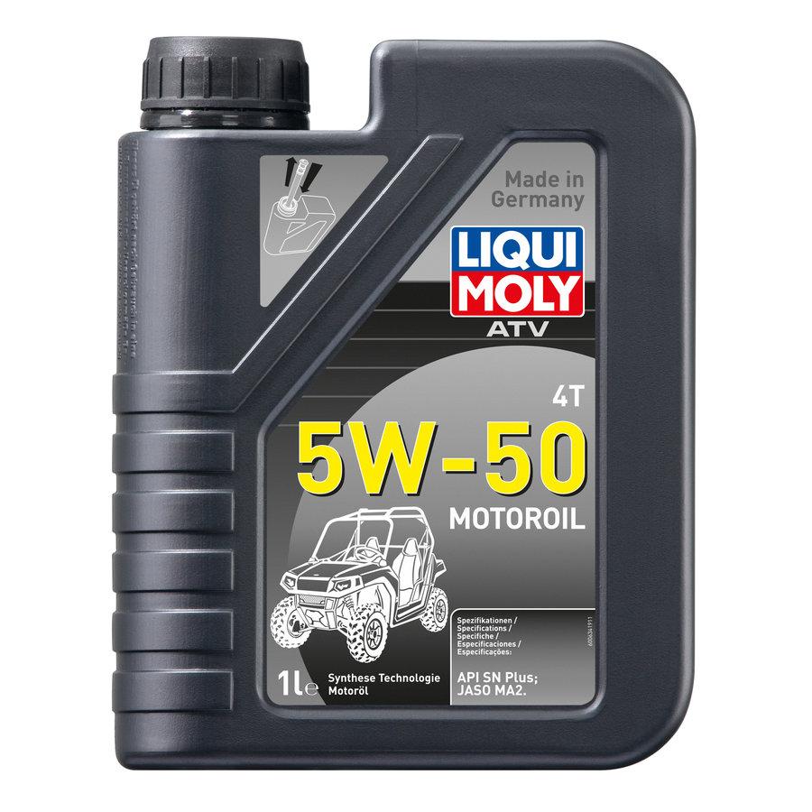 ATV 4T Motoroil 5W-50, 6 x 1 lt-2