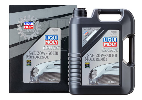 Liqui Moly Classic Motor Oil SAE 20W-50 HD, 5 lt