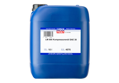 Liqui Moly LM 500 Compressorolie SAE 30, 10 lt
