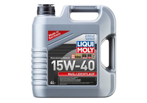 Liqui Moly MoS2 Leichtlauf 15W-40, 4 lt