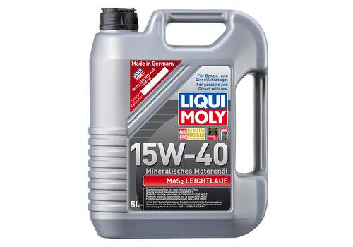 Liqui Moly MoS2 Leichtlauf 15W-40, 5 lt