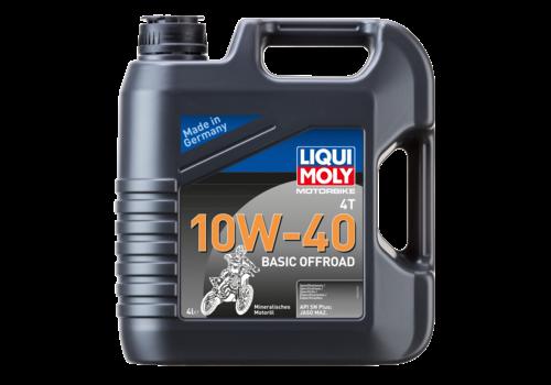 Liqui Moly Motorbike 4T 10W-40 Basic Offroad, 4 lt
