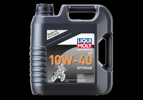 Liqui Moly Motorbike 4T 10W-40 Offroad, 4 lt