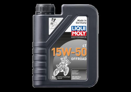 Liqui Moly Motorbike 4T 15W-50 Offroad, 1 lt