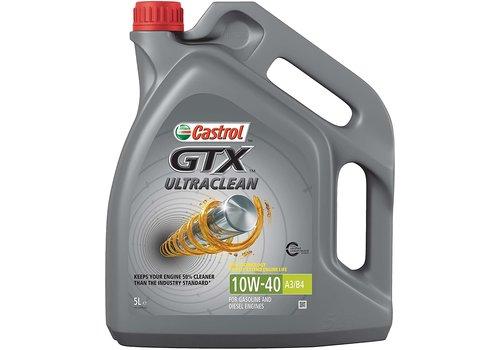 Castrol GTX Ultraclean 10W-40 A3/B4, 4 x 5 lt