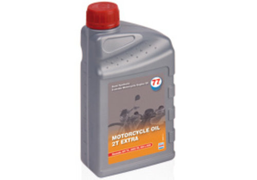 77 Lubricants Motorcylcle Oil 2T Extra - Motorfietsolie, 4 lt (OUTLET)