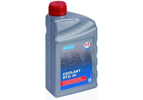 77 Lubricants Koelvloeistof RTU 40, 1 lt