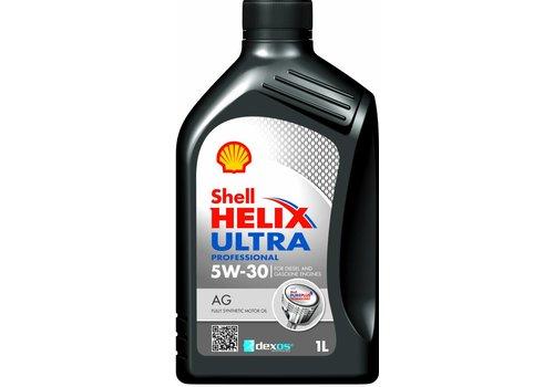 Shell Helix Ultra Pro AG 5W-30 - Motorolie, 1 lt