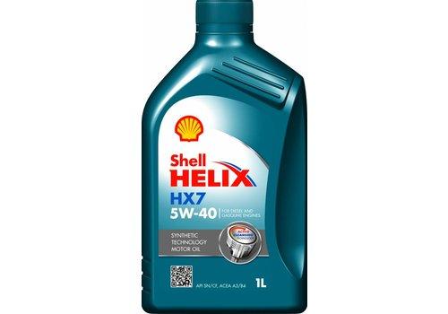 Shell Motorolie HELIX HX7 5W40, 1 ltr