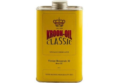 Kroon Oil Motorolie Vintage Monograde 30, doos 6 cans