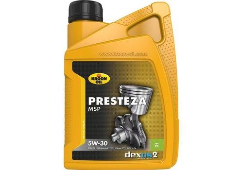 Kroon Oil Presteza MSP 5W-30 - Motorolie, 1 lt