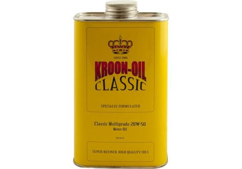 Kroon Oil Classic Multigrade 20W-50 - Motorolie, 1 lt