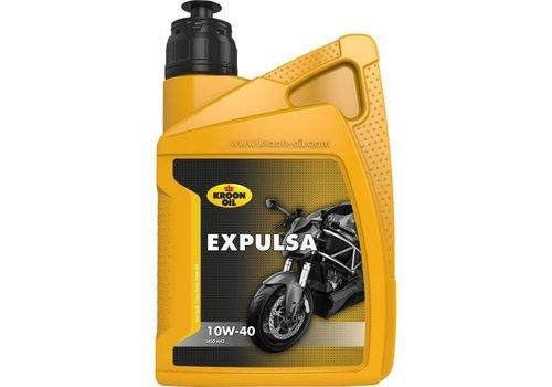 Kroon Oil Expulsa 10W-40 - Motorfietsolie, 1 lt