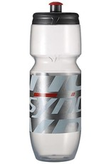 Syncros Syncros Water Bottle clear/red 0.7ltr