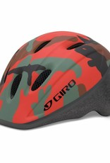 Giro ME2 Helmet Unisize 48-52cm Glowing Red Camo
