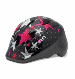 Giro ME2 Helmet Unisize 48-52cm Black/Pink Stars