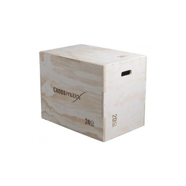 Lifemaxx Crossmaxx® wooden plyobox (3-level)