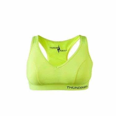 Thundersports Thunderbra geel sportbeha