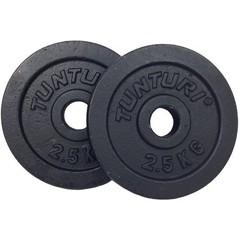 Tunturi Gewichtsschijven gietijzer 0.5-20kg
