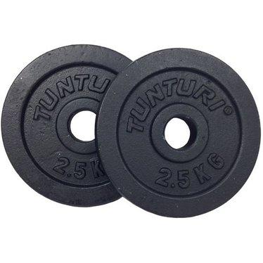 Gewichtsschijven gietijzer 0.5-20kg