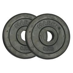 Gewichtsschijven rubber 0.5-25kg