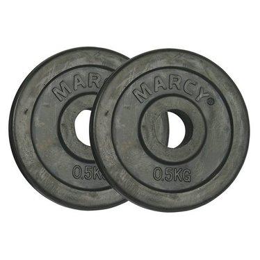 Gewichtsschijven rubber 0.5-20kg