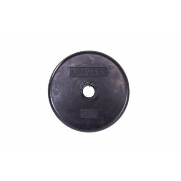 Lifemaxx Lifemaxx rubber gewichtsschijven 0.5-10kg