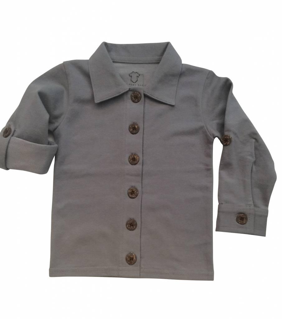 bd9779c6d69 Those Baby Basics Shirt Long Sleeve Light Denim - NL Retail