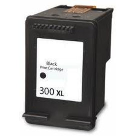 HP Huismerk inktpatroon HP300XL CC641EE Zwart 23 ml
