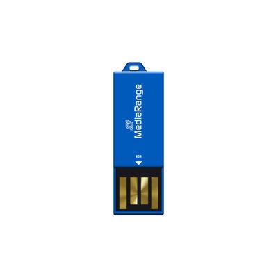 Afbeelding van 8GB MediaRange USB nano flash drive paper clip MR975